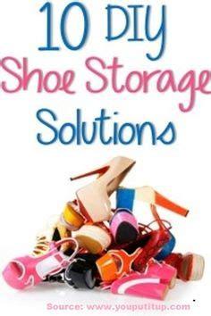 10 creative diy shoe storage solutions diy room ideas on organizing ideas