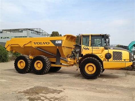 volvo truck service volvo a30e articulated dump truck service repair manual