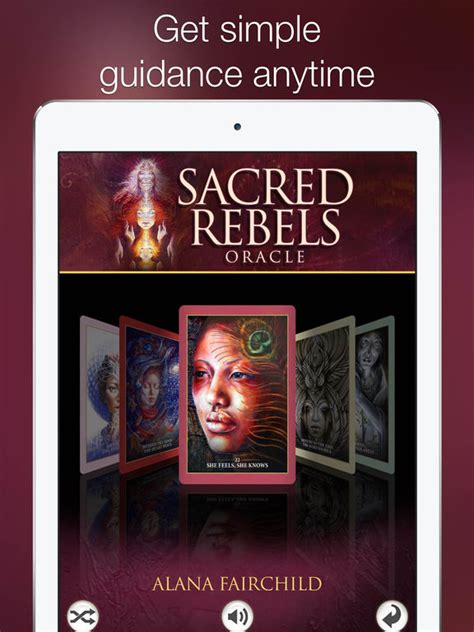 Oracle Iphone sacred rebels oracle on the app store