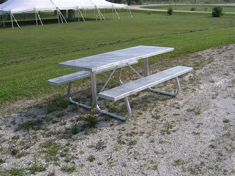 metal picnic benches michael s stabling developments williamsford ontario