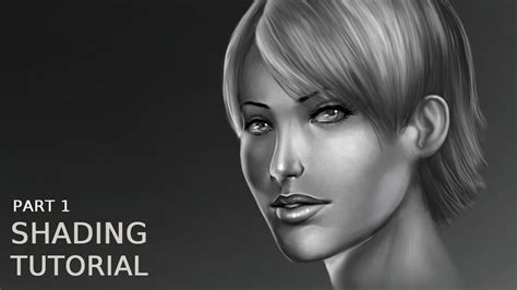 Tutorial Photoshop Volume 1 1 photoshop tutorial shading and volume of a part 1