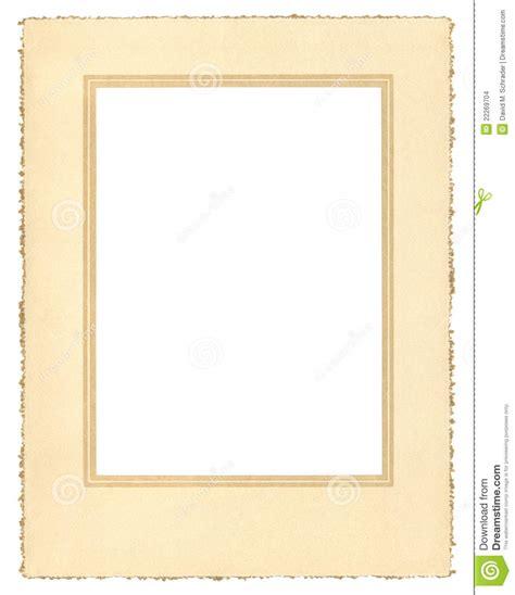Paper Frame - vintage paper frame stock images image 22269704