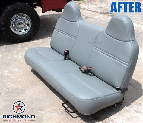 ford f250 bench seat replacement 1999 2001 ford f 250 xl vinyl bottom bench seat cover