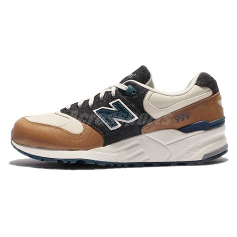 new balance leather running shoes new balance ml999nb d green brown beige leather