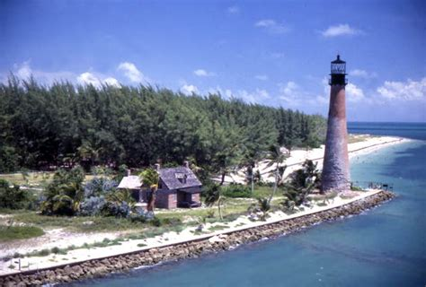 Court Number Search Florida Florida Memory Aerial View Showing The Historic Cape Florida Lighthouse At The Bill