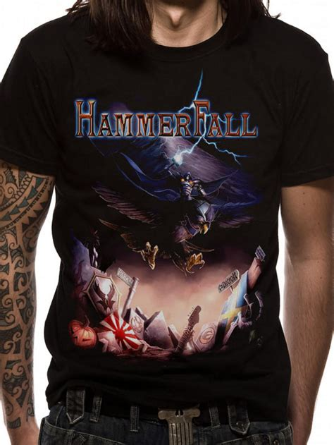 T Shirt Hammerfall hammerfall masterpieces t shirt buy hammerfall