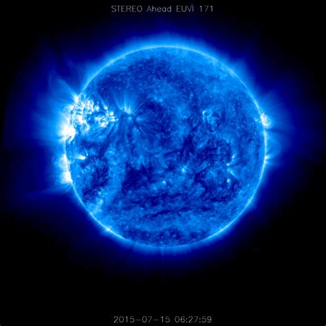 The Side Of The Sun stereo a spacecraft returns data from the far side of the