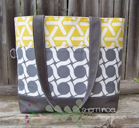 pattern for tote bag making cloud 9 geocentric ii bag challenge sew mama sew