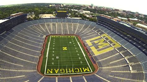 the big house capacity the university of michigan s michigan stadium quot the big house quot youtube