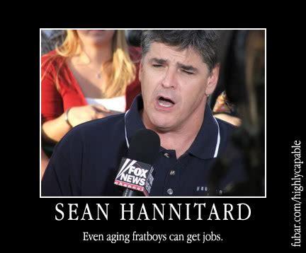 Sean Hannity Meme - sean hannity a faux news calamity lynnrockets blast off