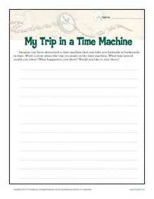 Essay Prompts For 5th Grade by My Time Machine Trip Creative Writing Prompt For 6th 8th Grade