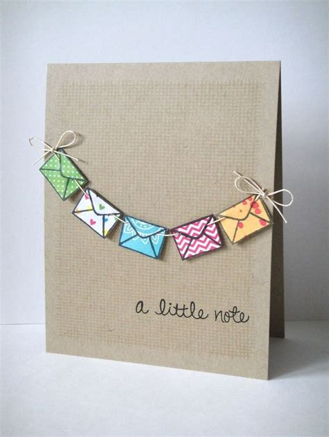 Handmade Unique Cards - card craft ideas craft ideas diy craft projects