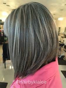 grey hair with highlights and low lights for pinterest the world s catalog of ideas