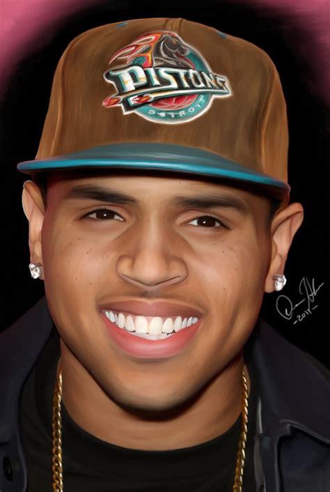 b chris brown hip hop r n b singer actor chris brown by letmepaintu on
