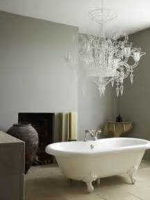 dulux bathroom ideas modern country style designer abigail ahern s bathroom two different paint colours two