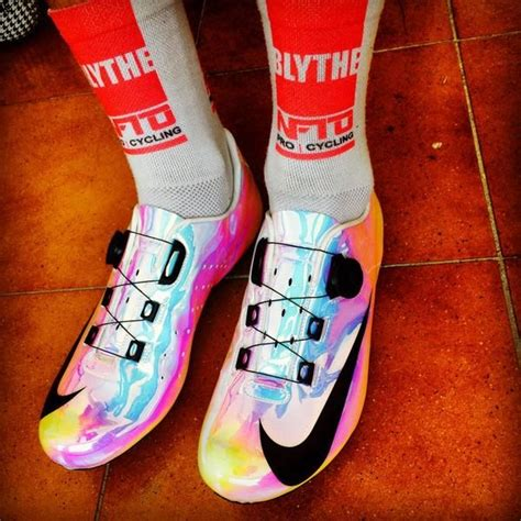 custom bike shoes adam blythe s custom nike cycling shoes i