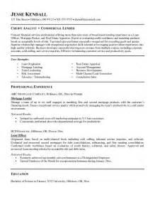 Job Objectives For Resume Samples Example Commercial Lender Resume Free Sample