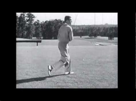 ben hogan golf swing slow motion ben hogan driver slow motion
