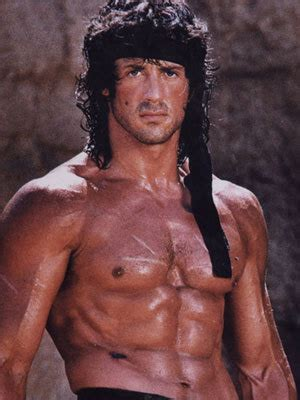 Sylvester Stallone In Rambo 4 by Rambo On