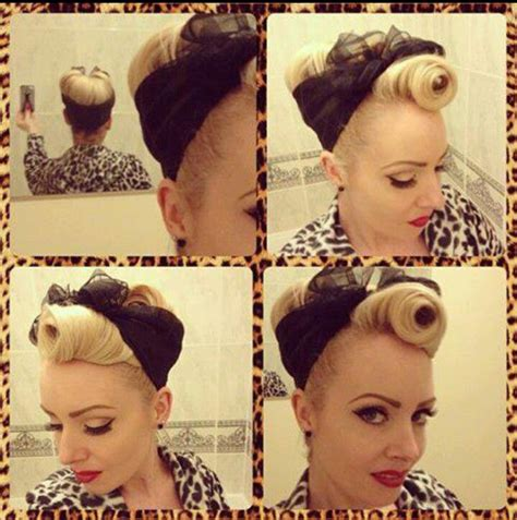 Pin Up Scarf Hairstyles by 1000 Ideas About 50s Hair Tutorials On Retro