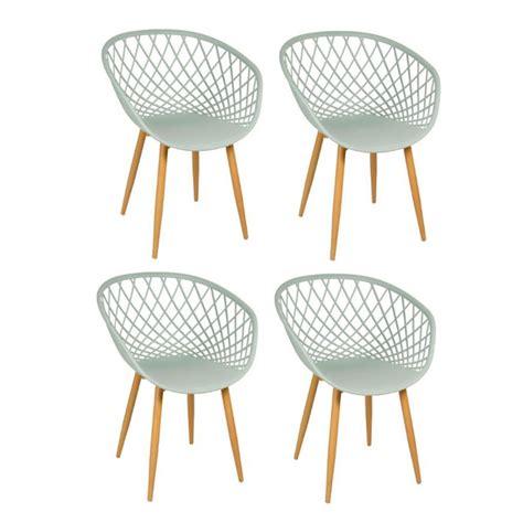 Lot De 4 Chaise by Lot De 4 Chaise Design Quot Zina Quot 81cm Vert Anis