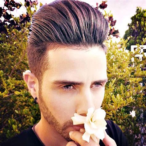 How To Style A Pompadour Choice Image   Hair And Trends