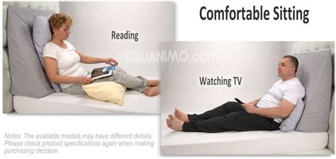 pillow to watch tv in bed manage reflux more ezsleep wedge pillow equanimo