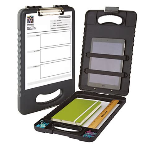 office depot brand carry all clipboard storage box 15 h x