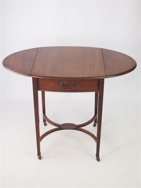 small drop leaf table small edwardian mahogany drop leaf side table