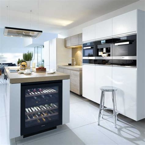 miele kitchen design the 25 best integrated wine cooler ideas on pinterest
