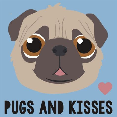pugs and kisses quot pugs and kisses quot graphic t shirt s t shirt