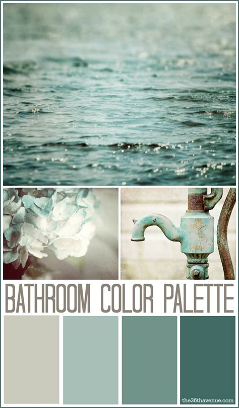 bathroom color palettes bathroom decor ideas and design tips the 36th avenue
