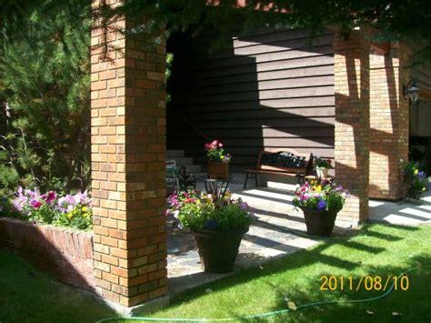 front yard sitting area frontyard landscaping