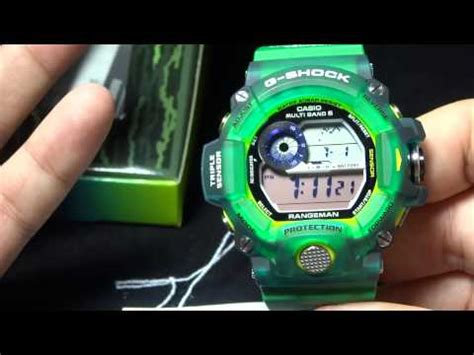 Gshock Rangeman The Sea And The Earth Gw 9403kj 9 Original casio g shock review and unboxing gw 9401kj 3jr the sea and the earth 2015 rangeman