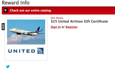 Ua Gift Card - my coke rewards 25 united airlines gift card only 625 points points miles martinis