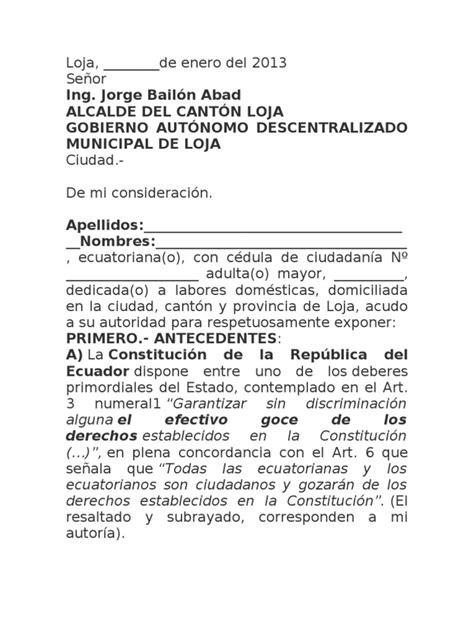 solicitar exencin al empadronamiento en mi huella en modelo de pedido de exoneraci 243 n de pagos para personas de