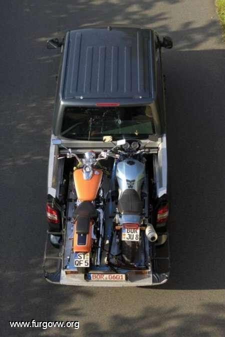 Vw T5 Motorradtransport by Maleteros 237 Bles Bandeja Bastidor Caj 243 N