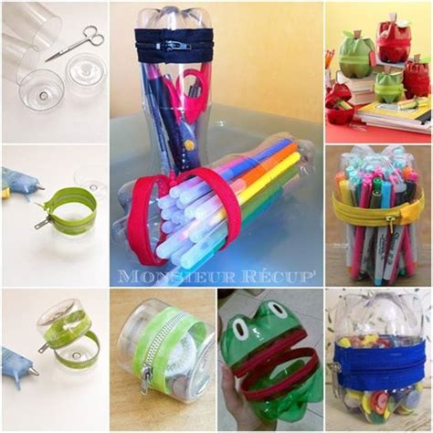 The Perfect DIY Zipper Holder From Plastic Bottle   The