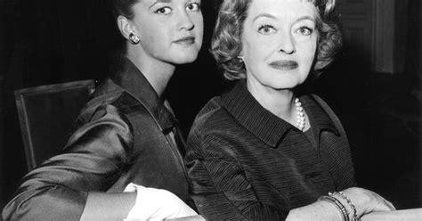 bettie davis daughter bette davis 1908 1989 with daughter bd hyman b