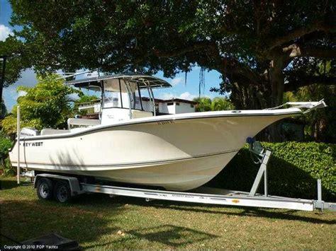 nautique boats perth key west 268 bluewater en florida bateaux 224 moteur d
