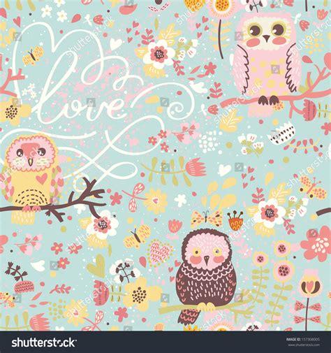imagenes romanticas otoño bright spring seamless pattern pastel colors vectores en