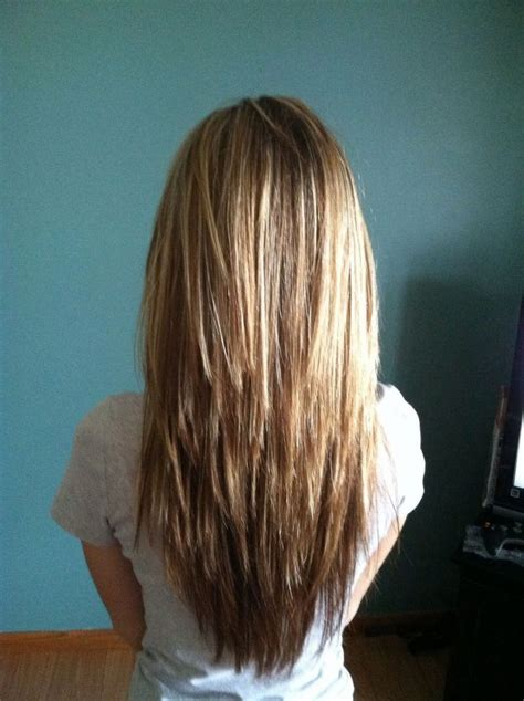 pictures of back of choppy layered hair long hair choppy layers hair pinterest 2017 hair styles