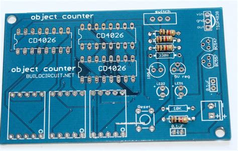 how to solder a resistor to a circuit board assembly tutorial 3 digit digital object counter diy kit build circuit