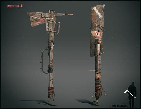pin by apocalypse on weaponry artstation melee weapon design post apocalyptic setting