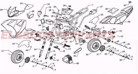 49cc pocket bike engine diagram 49cc parts pocket bike parts gs 12