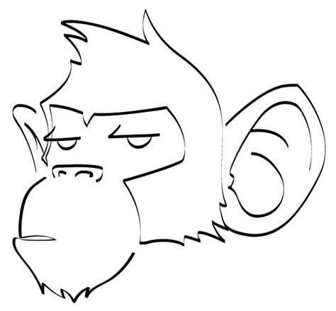 how to draw new year monkey monkey drawings monkeys on ink