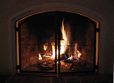 Gas Logs Wood Burning Fireplace by Gas Fireplaces Chimney Service And Repair