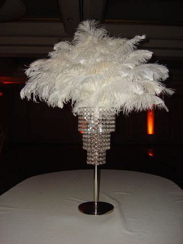 ostrich feather chandelier 52 best images about bling wedding centerpieces on pinterest