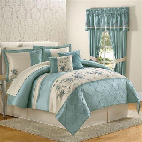 brylanehome comforter set blue queen yadiabarai