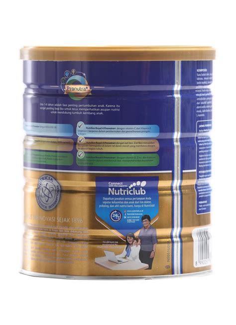 Nutrilon Royal 4 Vanila 800g nutricia nutrilon royal 4 madu klg 800g klikindomaret